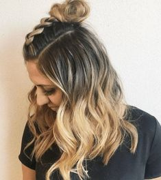 Styling your hair in the summer can be hard because of constant heat and humidity. Here are some easy and cute summer hairstyles to keep you cool! Cute Hairstyles For Summer, Cute Hairstyles For Medium Hair, Cool Braid Hairstyles, Holiday Hairstyles, Medium Hair Styles, Natural Hair Styles, Short Hair Styles, Cute Summer Hair Styles, Hairstyle Ideas