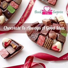 #Chocolate is always a #good #idea.#sweet #yummy #bookthesurprise
