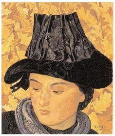 Ernest Bieler (Swiss, 1863-1948). Watercolor portraits - «Впечатления дороже знаний...»