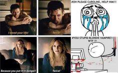 Klaus and Caroline TVD