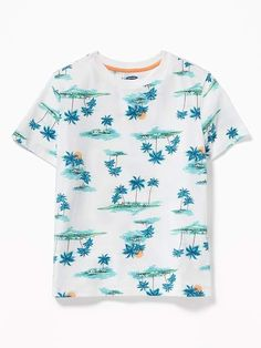 Old Navy Boys' Softest Printed Crew-Neck Tee Scenic Islands Size S Old Navy Maternity, Stylish Maternity, Maternity Tops, Maternity Fashion, Toddler Boy Fashion, Shop Old Navy, Looks Cool, Girls Shopping, Man Shop