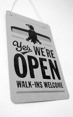 Richard Arthur Stewart: Fast Eddie's Barber Shop #graphic design #typography