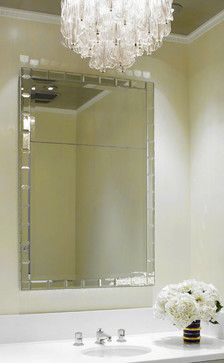 Idea For Chandelier In Powder Room Diffe Style Modern Mirrors Rooms
