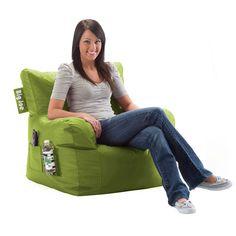 Big Joe Dorm Chair in Durable SmartMax Water-Resistant Fabric