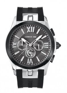 Brand NEW Mens Watch CERRUTI 1881 Chronograph 45MM Case  2 Year Warranty #Cerruti1881