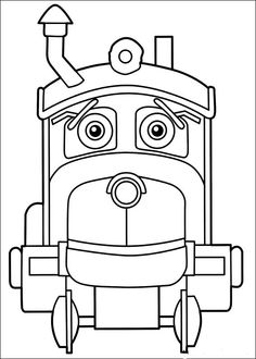 Dibujos para Colorear Chuggington 10