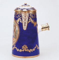 Rococo decorative objects  - Sèvres porcelain factory c.1777