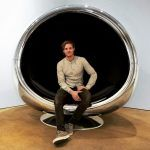 A Repurposed Boeing 737 Engine Cowling Makes a Fantastic… Chair. (it may be classified as art but it doesn't stop me from wanting this for a chair in my house)