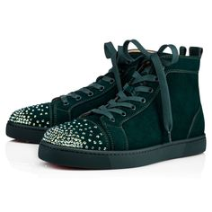 0af5953d6d3 Christian Louboutin United States Official Online Boutique - Lou Degra Flat  Version Ivy Strass available online. Discover more Men Shoes by Christian  ...