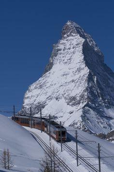 Gornergrat Peak, Zermatt, Switzerland   did that! what an awesome experience!!!!!