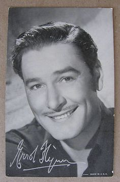 Charles Starrett 1940/'s 1950/'s Actor/'s Penny Arcade Photo Card