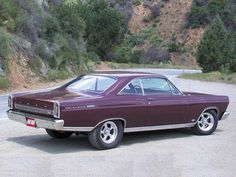 1966 Ford Fairlane Rear Side View
