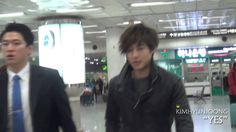 [fancam] 121215 Kim Hyun Joong(김현중)@Gimpo Airport TIME 1:25 - POSTED 15DEC2012 - 15K views