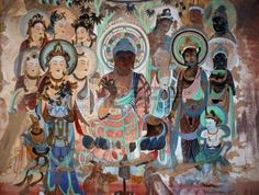 Artifacts from Gansu & Mogao Caves in China - Google Search