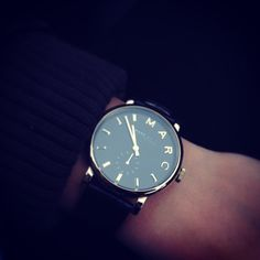 Marc by Marc Jacobs Baker watch via Gabby Menghini