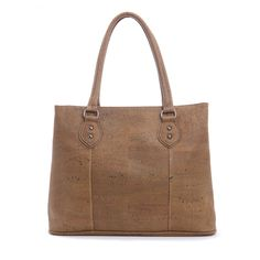 Elegant and roomy #Handbag made of silky smooth #cork #leather   100% #sustainable and #vegan   CHF 180.00   free delivery & return within Switzerland
