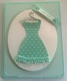 Creative Stamping with Margaret: She loves polka dots!