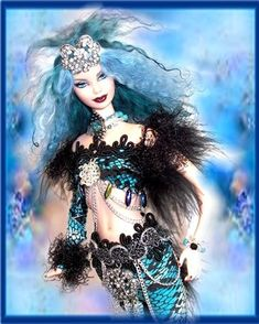 Mermaids, OOAK Mermaids, Mermaids Dolls, Mermaid Barbies, One of a kind Mermaids  site full of how to ooak barbie dolls.  tutorials, cds to purchase... turn a barbie into a mermaid or faerie or anything else