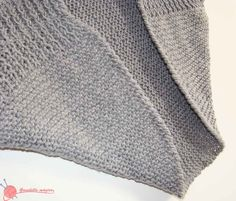 chaqueta kimono (3) de punto Crochet Cocoon, Crochet Poncho, Crochet Granny, Knitting Patterns, Crochet Patterns, Kimono, Pullover, Sweaters, Fashion