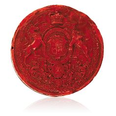 Large Seal of Queen Victoria from an 1850 Scotch Patent, Edinburgh, Scotland, July 1850 Edinburgh Scotland, Queen Victoria, Scotch, Seal, Plaid, Harbor Seal, Seals, Scotch Whiskey, Dolphins