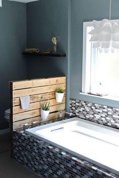 DIY deco : des palettes en bois deco transformées en lit, tête de lit... - Côté Maison