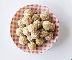 Apricot, almond and orange bliss balls recipe - By FOOD TO LOVE, Prepare healthy lunches for school or work with this simple recipe by Sophie Gray