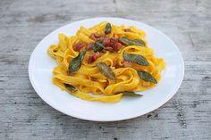 Čerstvá pasta a dvě omáčky | Cuketka