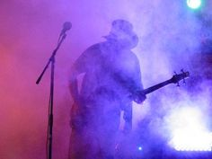 Festival Ends With Rock   and Roll and Laser Lights