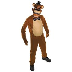 Childs Five Nights at Freddys Freddy Costume Boys Fancy Dress Costumes 630098 Tween Costumes, Batman Costumes, Cute Halloween Costumes, First Halloween, Halloween Kids, Children Costumes, Halloween Parties, Halloween Halloween, Vintage Halloween