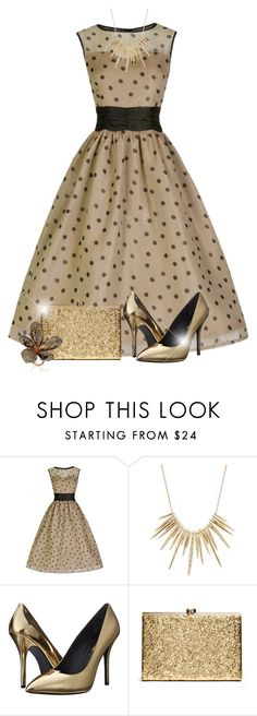 """Untitled #2325"" by jodilambdin ❤ liked on Polyvore featuring Alexis Bittar, Pierre Balmain and MUNNU The Gem Palace"