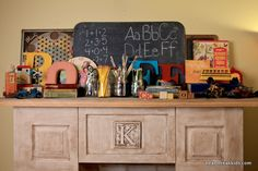 Heart Break Kids - Blog - Back to school and a mantle
