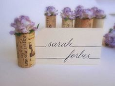 find this pin and more on wedding ideas lilac wedding place card holders