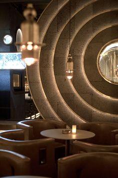 Ideas For Design Restaurant Modern Woods Cafe Restaurant, Restaurant Design, Restaurant Lighting, Bar Lighting, Lighting Design, Wood Interior Design, Cafe Interior, Furniture Design, Luxury Bar