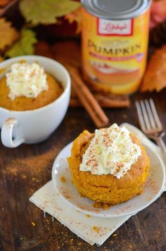 The Best Pumpkin Mug Cake! More Cakes Cupcake, Cooking, Mug Cakes, Cakes Pi, Mugs Cakes, Things Pumpkin, Cupcake Amazing, Cakes Etc, Cookies Cupcakes Candy The Best Pumpkin Mug Cake! try with almond and/or coconut flour