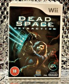 DEAD SPACE EXTRACTION WII GAME WITH MANUAL PAL EA GAMES VIDEO GAMES 18+