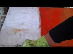 Abstract spontaneous painting, long version. Abstraktes Acrylbild, lange Version... - YouTube