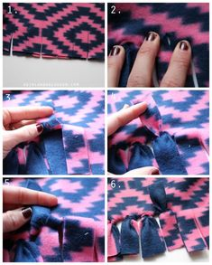 Everything you ever wanted to know about making fleece blankets! 2019 how to tie a fleece blanket More The post Everything you ever wanted to know about making fleece blankets! 2019 appeared first on Blanket Diy. Fleece Crafts, Fleece Projects, Easy Sewing Projects, Sewing Tutorials, Sewing Ideas, Dress Tutorials, Diy Projects, Fleece Blanket Edging, Weighted Blanket