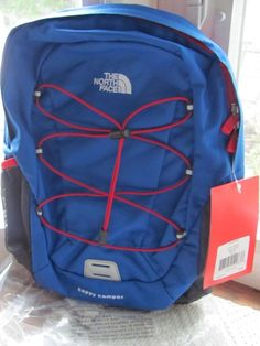 What I'm Selling, ends today (sat) at 12:53 est:: North Face YOUTH backpack HAPPY CAMPER (new with tags) #TheNorthFace #Backpack