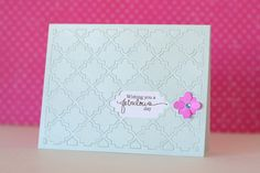 Yep, it's more Quaterfoil! I've picked 4 lattice card different challenges and created 5 cards after trying out different ways to use the whole Pa...