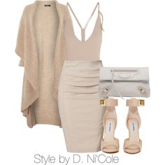 A fashion look from January 2015 featuring Crea Concept cardigans, Donna Karan skirts and Eres one-piece swimsuits. Browse and shop related looks.