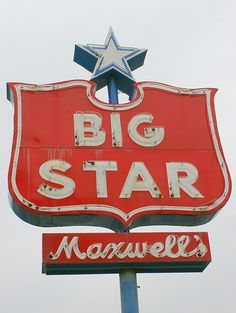 In Martinsville, VA, they were the anchor store for Patrick Henry Mall. They went out in the early 80's. Big Star used to be part of the Colonial Foods chain out of Charlotte, NC.Maxwell's Big Star - Bolivar, TN