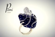 Tentacular Beauty - Gold Ring - Pomi Gold Rings, Silver Jewelry, Handmade, Beauty, Hand Made, Silver Jewellery, Beauty Illustration, Handarbeit