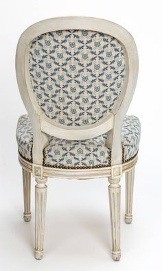 C1890s Louis XVI Style Painted Dining Chairs Set Of Four