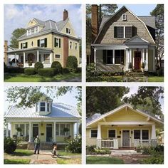Check out our gallery of 6 exterior makeovers with loads of inspiring (& money-saving!) ideas for enhancing your home's curb appeal.   thisoldhouse.com