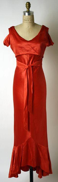 Evening ensemble, 1933-35, Elsa Schiaparelli. Metropolitan Museum of Art.
