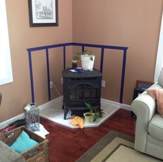 How To Make A Pellet Stove Mantle