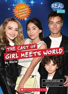 Introduces the cast members of the popular Disney Channel sitcom, detailing their lives and accomplishments and revealing little-known facts about each actor.