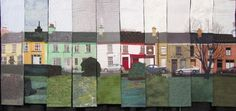 A Street in Ireland by Anne Jenkins and the Ten Slices group, from the Why Quilts Matter blog, photographed at International Quilt Market