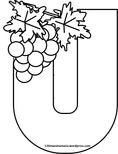 Coloring Pages, Alphabet, Teaching, Create, English, Wine, Food, Autumn, Childhood Education