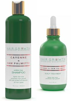 Cayenne and Saw Palmetto Hair Growth Pack